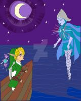 Link: A journey across seas by Elvishprincess25