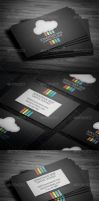Cloud Design  Business Card by vitalyvelygo
