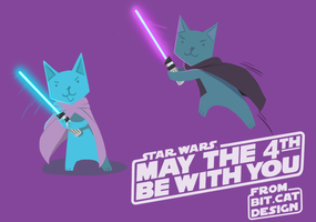 Bit Cat- Star wars by TheTinyTaco