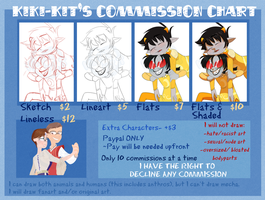 -Commission Chart- *OPEN* by kiki-kit