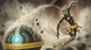 LoL: orianna by zevenstorms