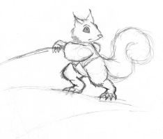 Squirrel by JacobMace