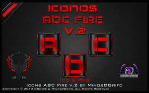 Icons ABC Fire V.2 2013 By DShepe by DShepe