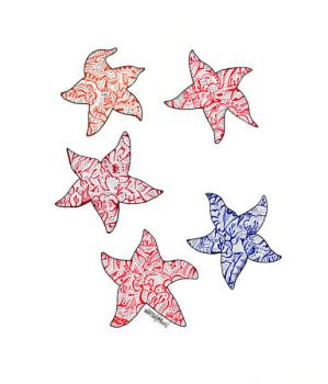 5 Starfish by whitneyfawn