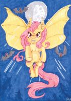 Flutterbat into the Night! by TheFredricus