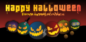 Happy Halloween from simpleCOMICS! by simpleCOMICS