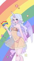 Pride and love by RubyNina