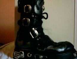 Boots 1 by XionKnightmare-Stock