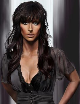 Painting :Jennifer Love Hewitt by SuperNinkendo
