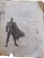 Batman High School drawing by TheHylden