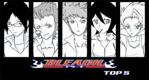 bleach top 5 votes by vatenkeist