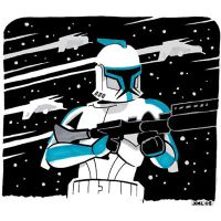 A Clone Trooper by JoelRCarroll