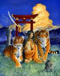 Lady of Tigers by Hbruton