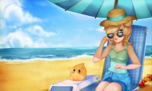 Beach Rosalina by JacyA