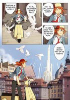 Awaken comic page 2 OLD by Flipfloppery