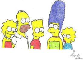 Family Simpson by FamilyGayFanGirl