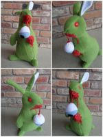 Alfonso the Zombie Bunny by IckyDog