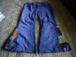 Bellbottoms front view by LoserHobo