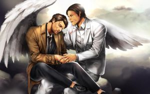 lucifer in sam and cas by jinbay