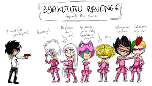 The revenge of Byakututu by Halouette