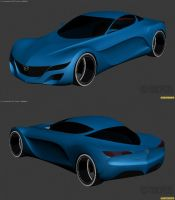 2012 Mazda Concept WIP1 by The-IC