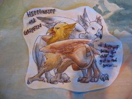 CoMC: Gryphon and Hippogryph by emera