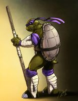Donatello by kmichaelrussell