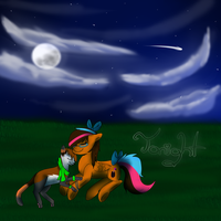 Tonight -point commission for Butterscothfever223- by Xx-SunsetSkies-xX