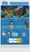 pelagos aquarium web site by OnRckn