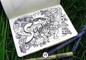 DOODLE: Summer by vicenteteng