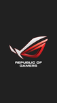 ROG red iPhone 6s plus by Alphaziel