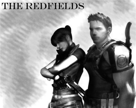 Chris and Claire Redfields by redfield37