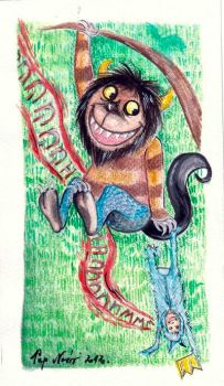Where the wild things are by breath-in