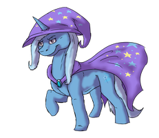 The great and powerful Trixie by MattiPetti