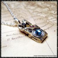 Steampunk Pendant Mini by SoulCatcher06