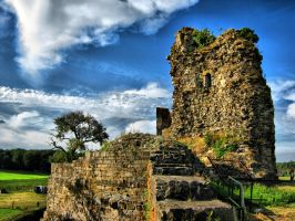 The Ruins of Castle Montfort II by Heidenwerk