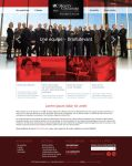 Law firm web site design by neverdying