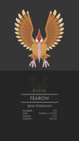 Fearow by WEAPONIX