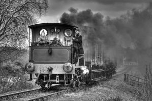Tanfield Railway Feb 2012 by neonwilderness