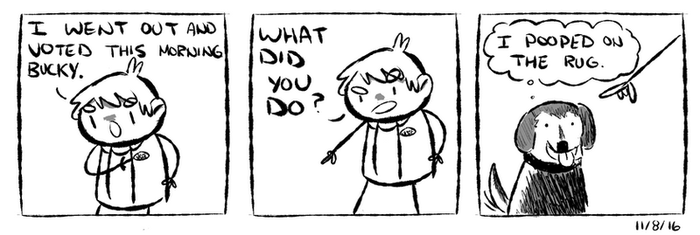 Voting Day 2016 by WaywardDoodles