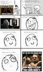 Ragecomic - Goldeneye Wii by ShiningRayWolf