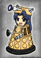 MSH- Dalek Ryoko by mell0w-m1nded