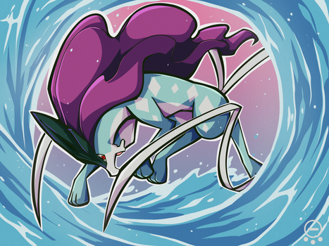 ::Suicune:: by Mangostaa