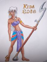 Princess Kida by ALS123