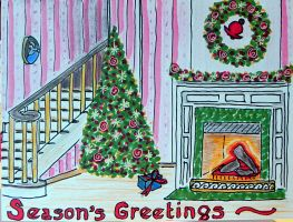 Holiday Card by Lou-in-Canada