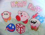 Kirby Party by Rotommowtom
