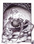 Twisted Little Miss Muffet by Silverwingfox