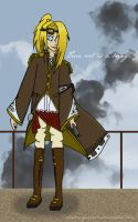 Steampunk Deidara by shadowqueen16