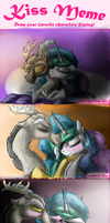 Kiss Meme - Dislestia by Silvy-Fret