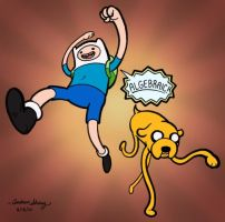 Adventure Time: Algebraic by silentsketcher